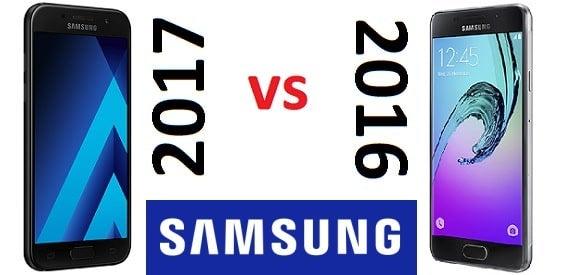Samsung Galaxy A3 (2017) und Galaxy A3 (2016)