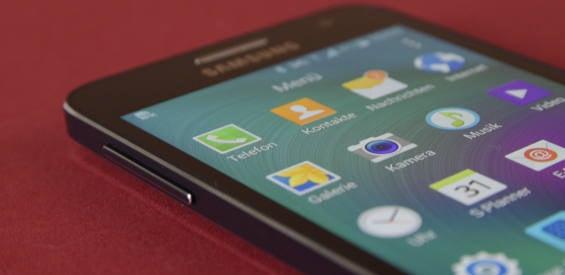 Samsung Galaxy A3 Test