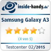 Samsung Galaxy A3 Testsiegel