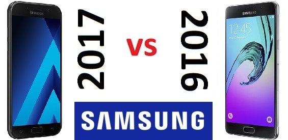 Samsung Galaxy A5 (2017) gegen Samsung Galaxy A5 (2016)