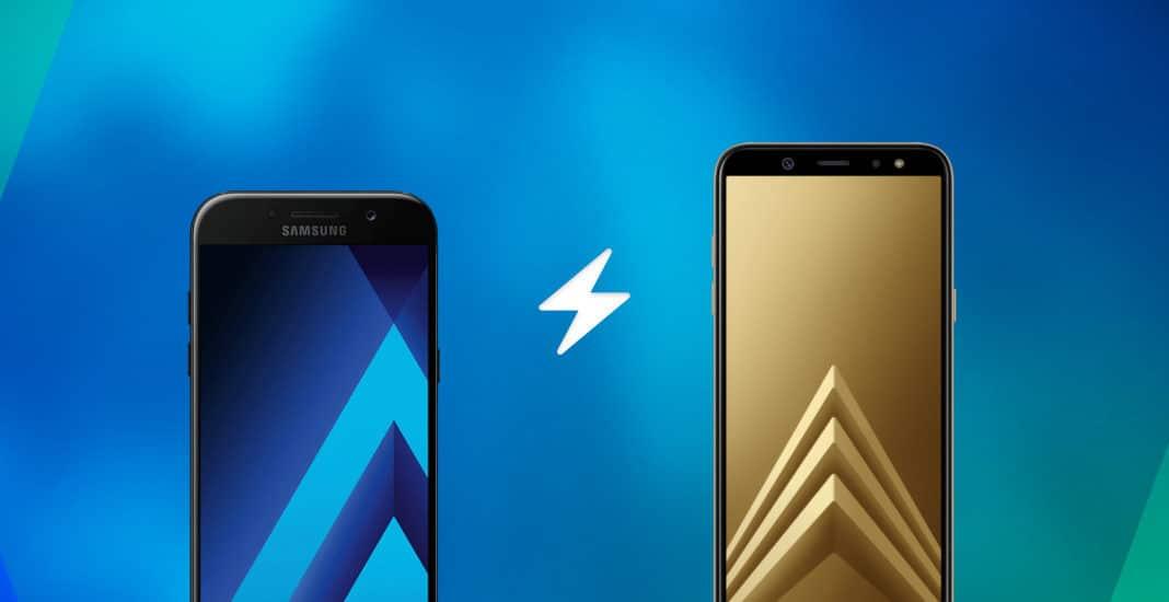 Samsung Galaxy A6 Gegen Samsung Galaxy A5 2017 Im Vergleich