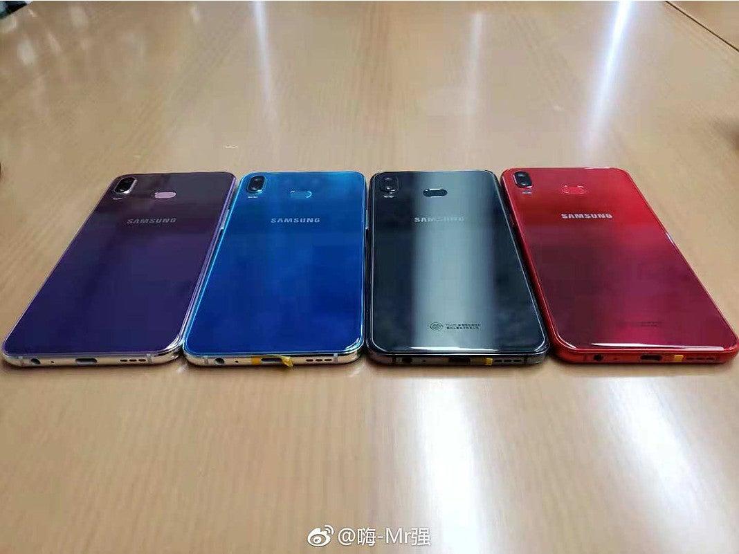 Samsung Galaxy A6s Gerücht Rückseite
