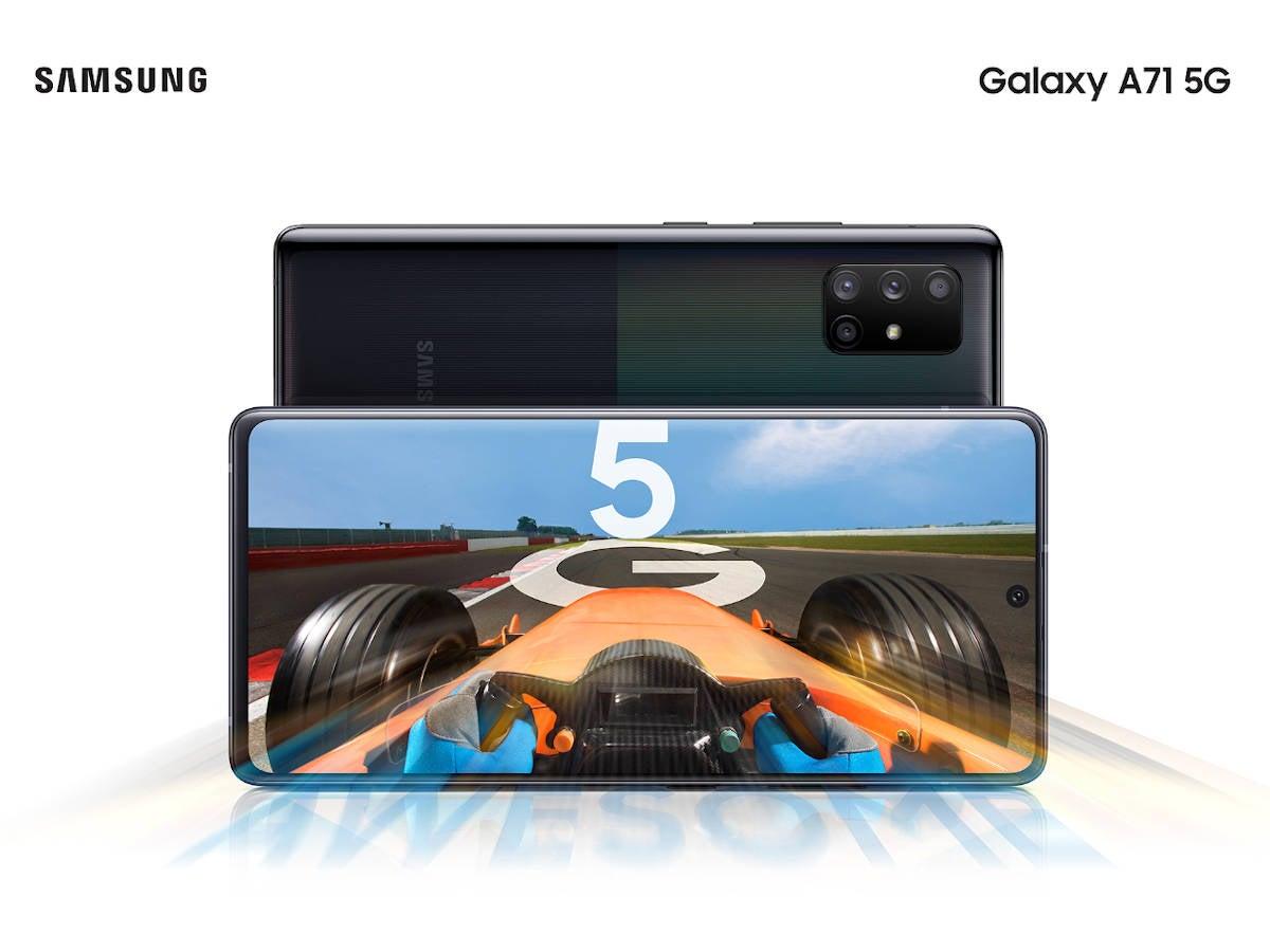 Samsung Galaxy A51 5G & A71 5G - Highspeed für die Mittelklasse