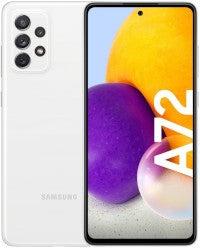 Samsung Galaxy A72 Vorderseite und Rückseite