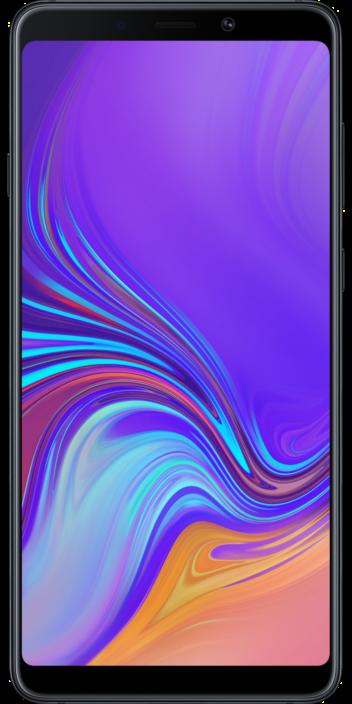 Samsung Galaxy A9 2018 Schwarz Front