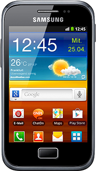 Samsung Galaxy Ace Plus Datenblatt - Foto des Samsung Galaxy Ace Plus