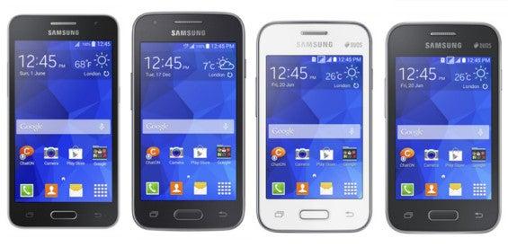 Samsung Galaxy Core II, Galxy Ace 4, Galaxy Young 2, Galaxy Star 2