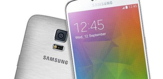Samsung Galaxy F mit Alu-Gehäuse