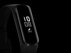 Frontale Ansicht des Samsung Galaxy Fit e