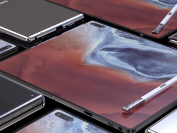 Konzept des Samsung Galaxy Fold 2