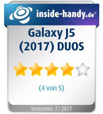 Samsung Galaxy J5 (2017) DUOS Testsiegel