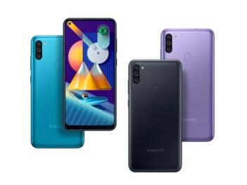 Samsung Galaxy M11 verschiedene Farben