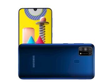 Samsung Galaxy M31 auf Pressebildern