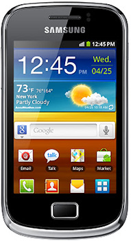 Samsung Galaxy Mini 2 Datenblatt - Foto des Samsung Galaxy Mini 2
