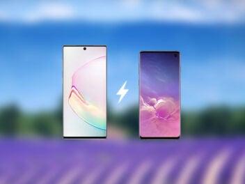Vergleich Samsung Galaxy Note 10 vs. Galaxy S10