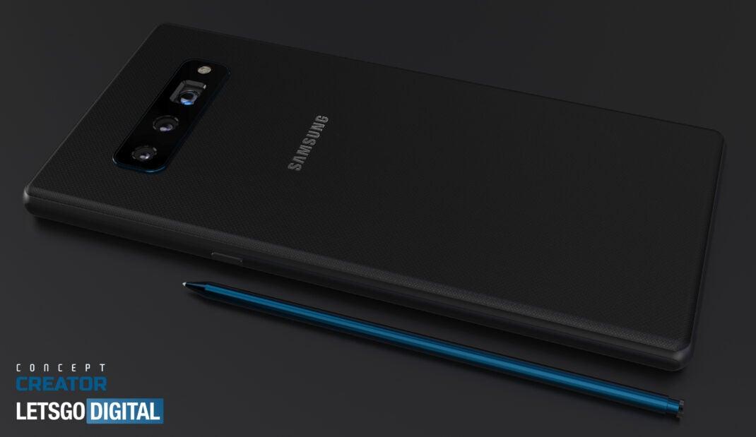 Samsung Galaxy Note 20: So könnte es aussehen