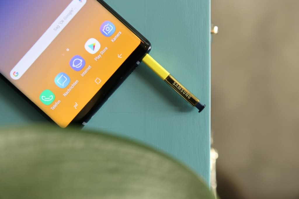 Samsung Galaxy Note 9: Der S Pen
