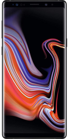 Samsung Galaxy Note 9 Datenblatt - Foto des Samsung Galaxy Note 9