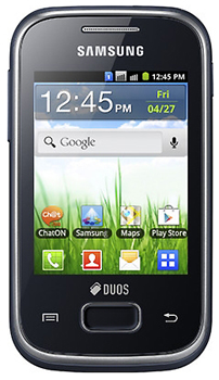 Samsung Galaxy Pocket Duos Datenblatt - Foto des Samsung Galaxy Pocket Duos