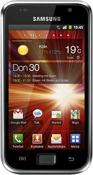 Samsung Galaxy S Plus Datenblatt - Foto des Samsung Galaxy S Plus