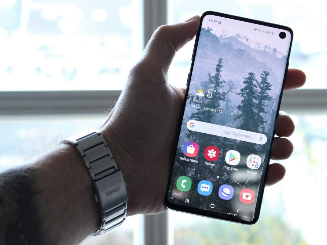 Samsung Galaxy S10 im Test: Der Fast-Alleskönner