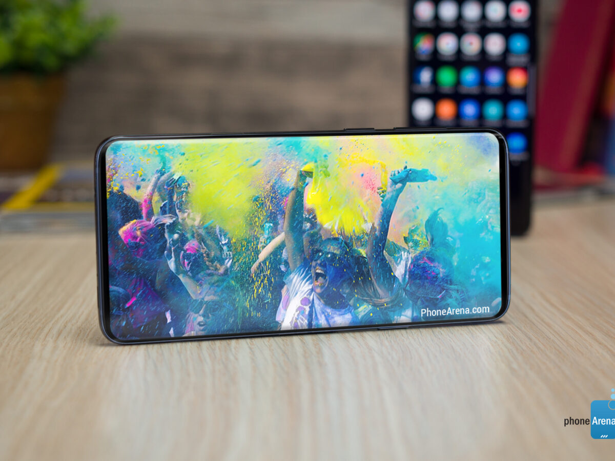 Samsung Galaxy S10 Konzept mit randlosem Display