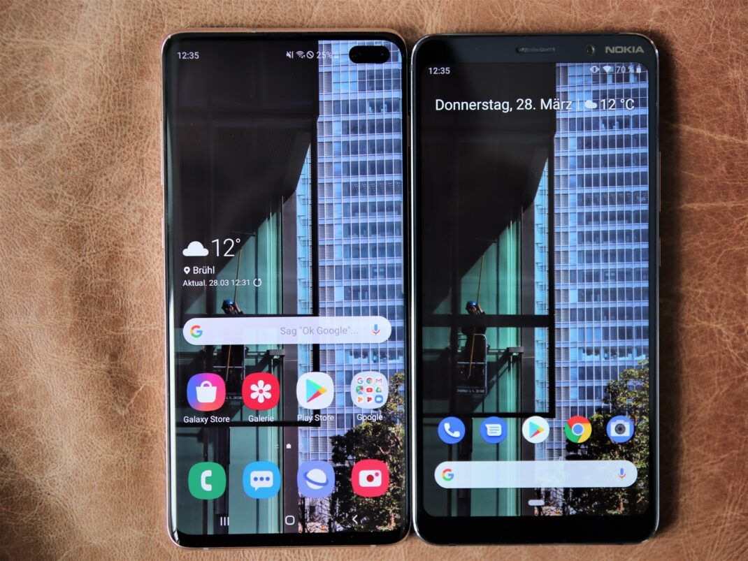Samsung Galaxy S10+ vs. Nokia 9 PureView
