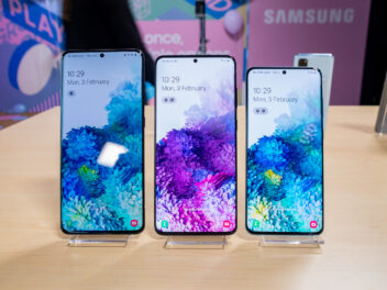 Samsung Galaxy S20, S20+ und S20 Ultra im Vergleich