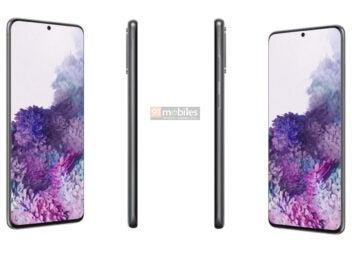 Samsung Galaxy S20 Plus Front und Seiten