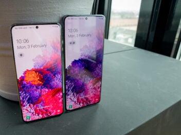 Samsung Galaxy S20 und S20+ im Vergleich