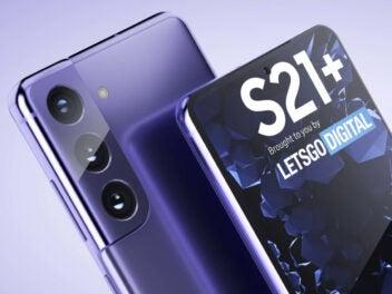 So soll das Samsung Galaxy S21+ 5G aussehen