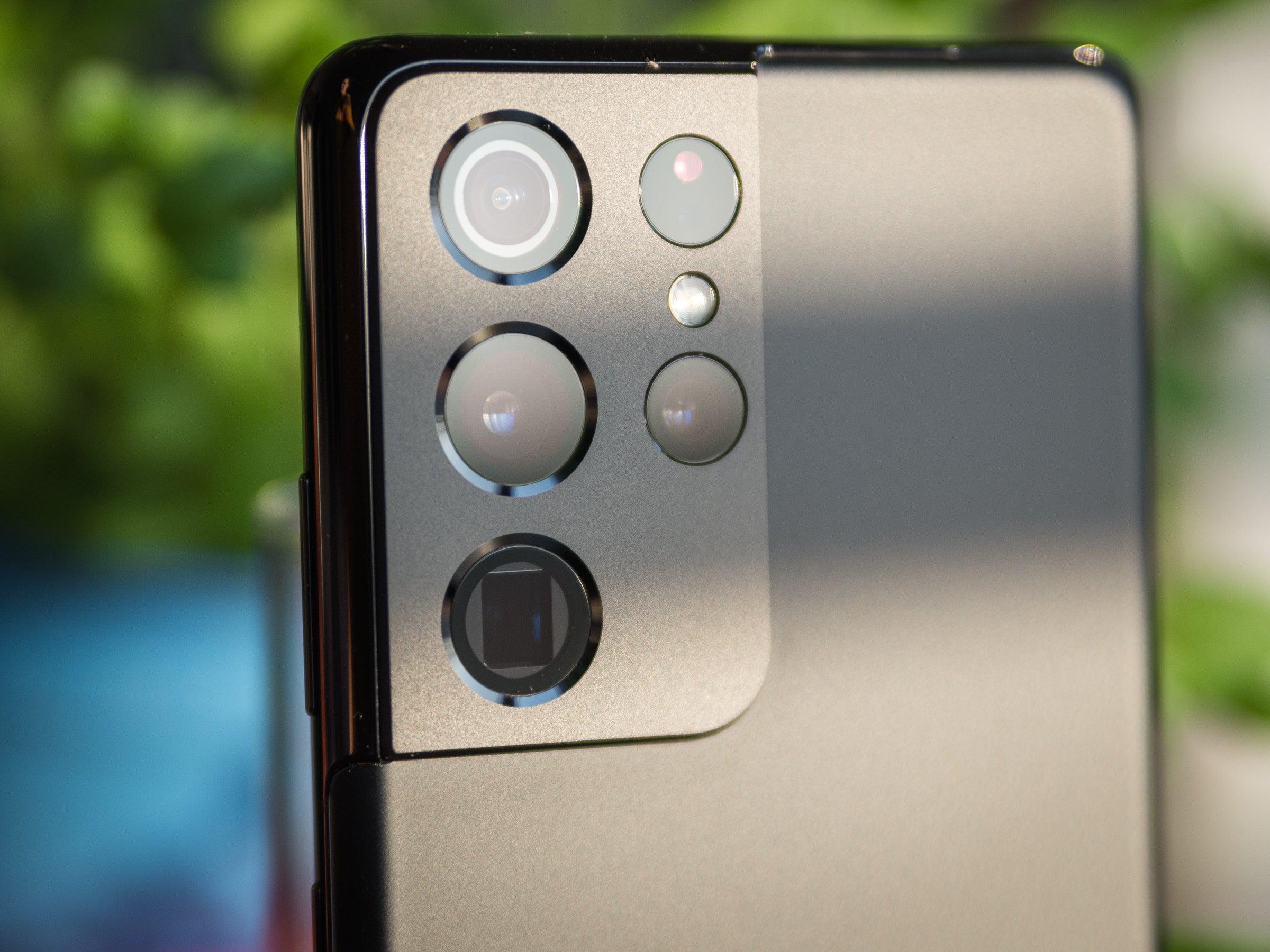 Die Kameraausstattung des Galaxy S21 Ultra ist beeindruckend.