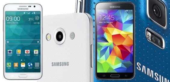 Samsung Galaxy S5 LTE+ und Samsung Galaxy Core Max
