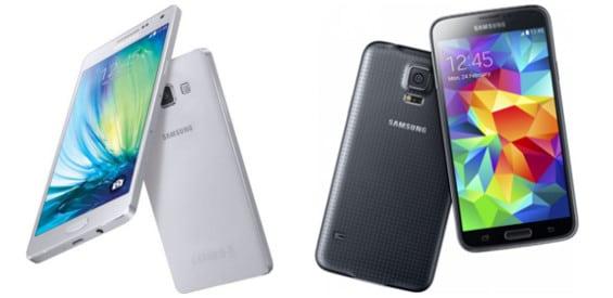 Samsung Galaxy S5 und A5