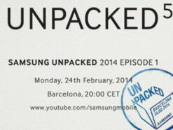 Samsung Galaxy S5 Unpacked Event 5 Barcelona
