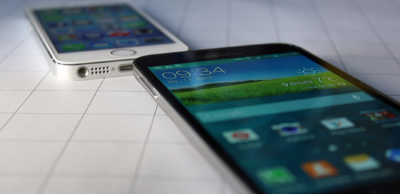 Samsung Galaxy S5 vs. Apple iPhone 5s