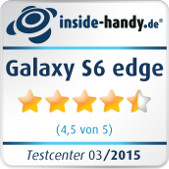 Samsung Galaxy S6 edge Testsiegel