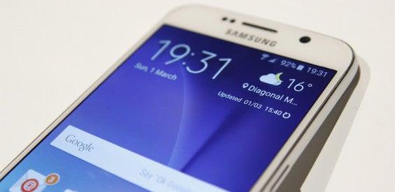 Samsung Galaxy S6 weiß