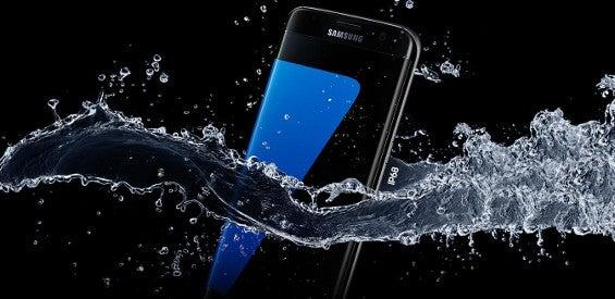 Auch das Samsung Galaxy S7 ist wasserdicht.