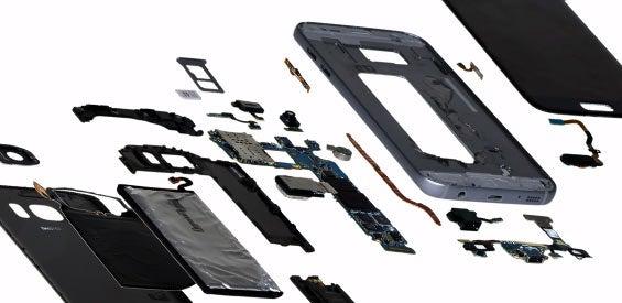 Komponenten des Samsung Galaxy S7