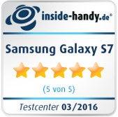Samsung Galaxy S7 Testsiegel