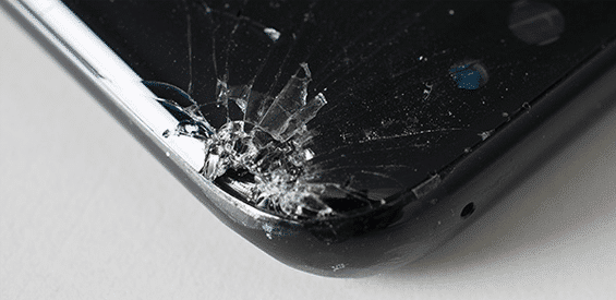 Samsung Galaxy S8 nach dem Falltest von Stiftung Warentest