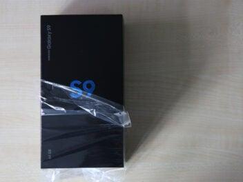 Verpackung des Samsung Galaxy S9