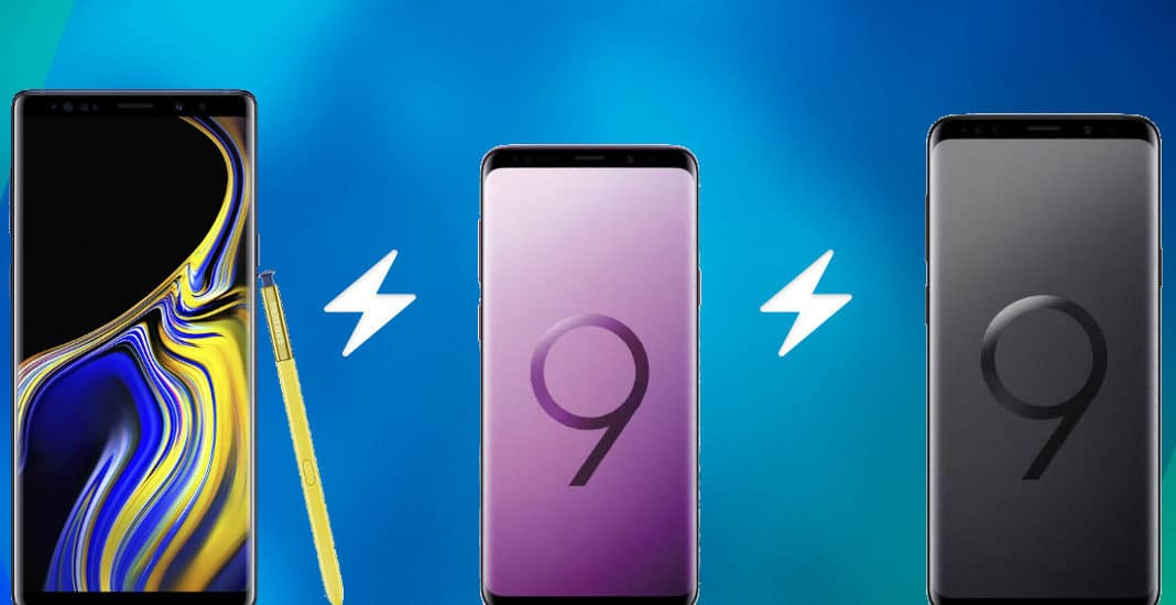 Samsung Galaxy S9, Galaxy S9+ und Galaxy Note 9