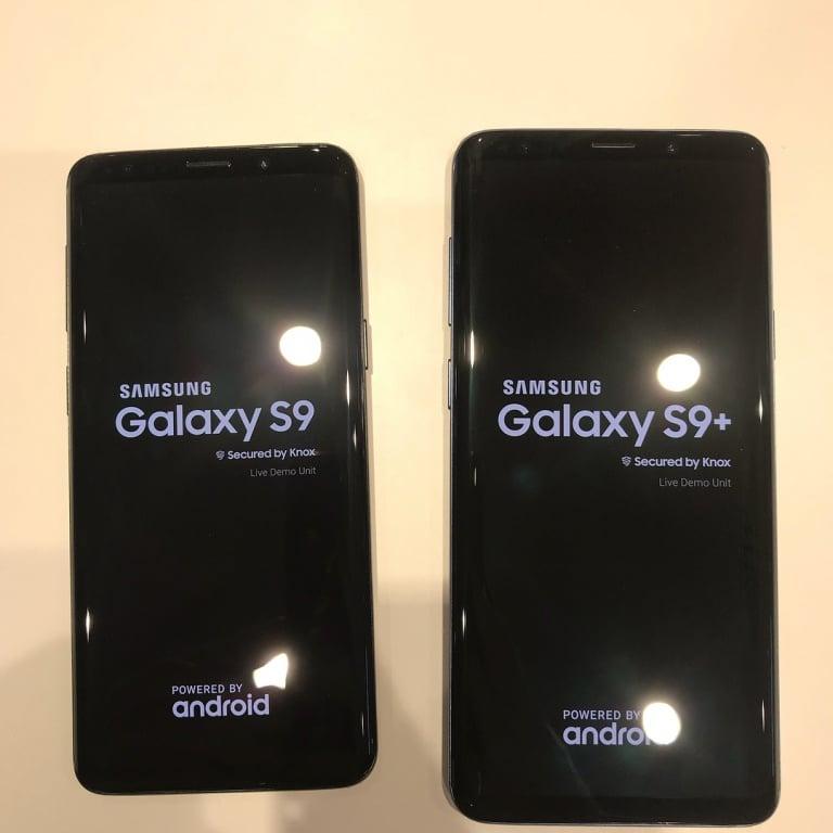 samsung galaxy s9 und s9 plus vergleich