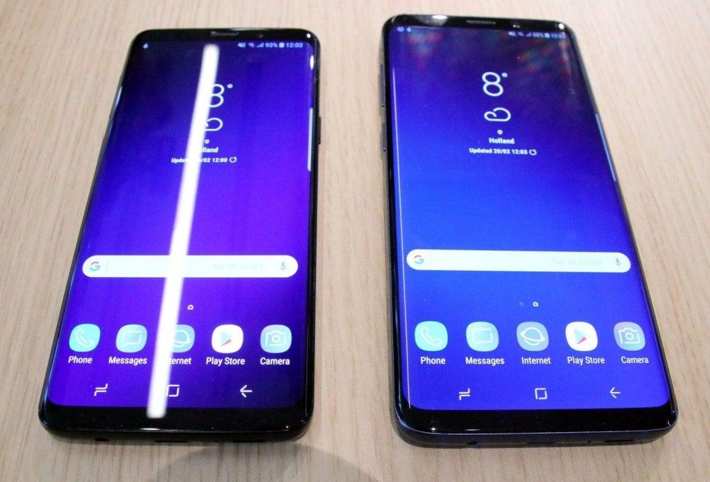 Samsung galaxy s9 plus violett