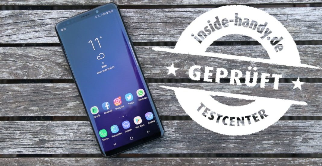 Samsung Galaxy S9+ im Test