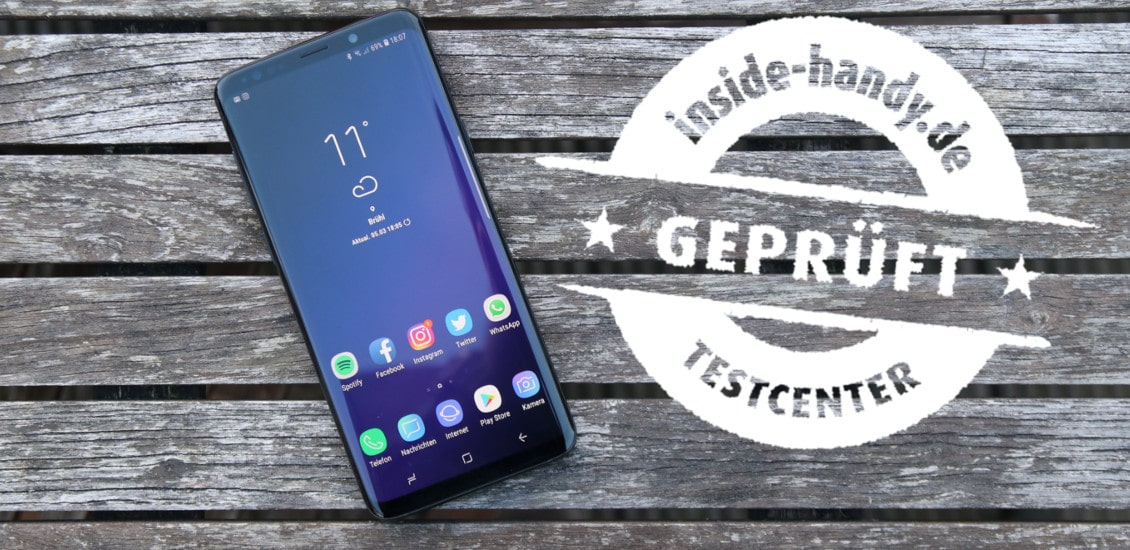 Samsung Galaxy S9+ im Test