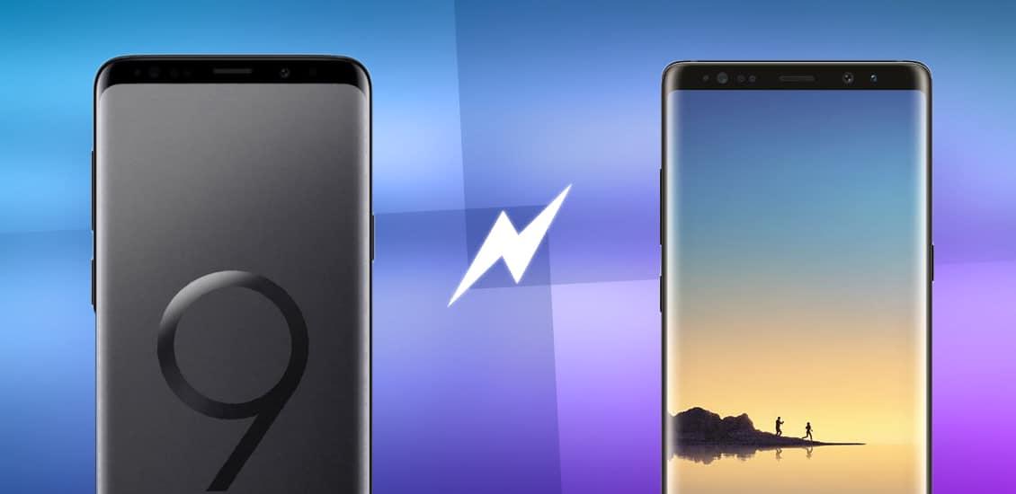 Samsung Galaxy S9+ vs Note8