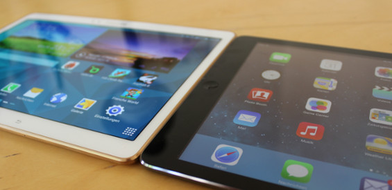 Samsung Galaxy Tab S 10.5 vs Apple iPad Air